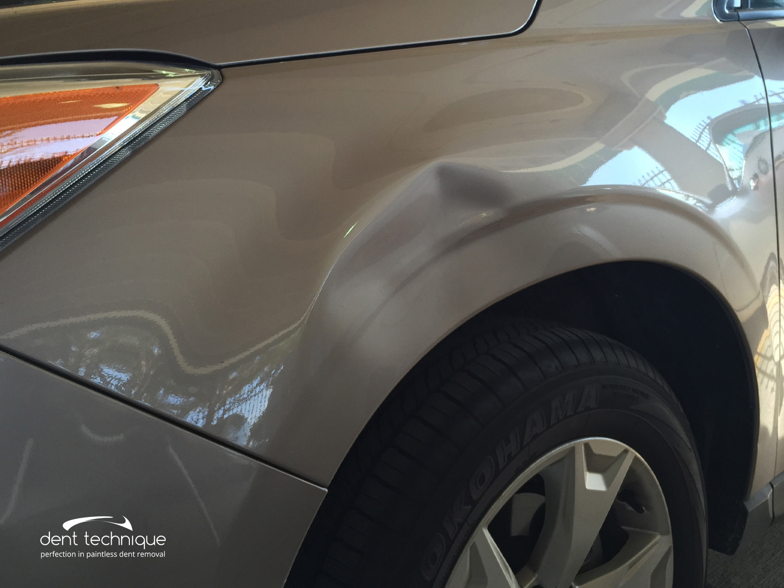 Auto Dent Removal by Dent Technique